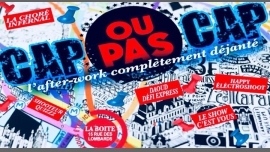 CAP OU PAS CAP à Paris le ven. 23 novembre 2018 de 18h30 à 02h00 (After-Work Gay)