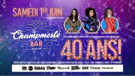 40 ans de La Champmeslé avec Les Folles de Paris à Paris le sam.  1 juin 2019 de 20h00 à 23h30 (Spectacle Gay)
