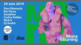 Concrete: Mona Is Burning em Paris le sáb, 29 junho 2019 22:00-09:30 (Clubbing Gay Friendly)