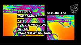 Concrete: Blawan The Advent Shlomø AWB Yogg & Pharaoh à Paris le sam.  8 décembre 2018 de 23h00 à 09h30 (Clubbing Gay Friendly)