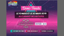 Voici venue l'heure des demi-finales - Talent Capital Paris 2019 à Paris le mer. 20 mars 2019 de 20h00 à 23h45 (Spectacle Gay, Lesbienne, Hétéro Friendly, Trans, Bi)