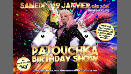 Patouchka Anniversaire Show à Paris le sam. 19 janvier 2019 à 20h00 (After-Work Gay)
