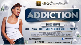 ADDICTION à Paris le sam. 16 mars 2019 de 23h00 à 14h10 (Clubbing Gay, Lesbienne)