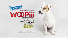 Woopiii, c'est mercredi ! in Paris le Wed, June  5, 2019 from 06:00 pm to 02:00 am (After-Work Gay, Lesbian)