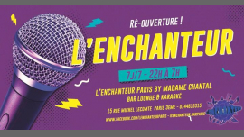Re-ouverture ENCHANTEUR à Paris le ven. 19 avril 2019 à 23h00 (Clubbing Gay, Lesbienne, Hétéro Friendly)