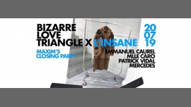 Bizarre Love Triangle X L'insane #closer Party in Paris le Sat, July 20, 2019 from 11:30 pm to 06:00 am (Clubbing Gay)