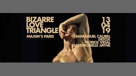 Bizarre Love Triangle #BLT à Paris le sam. 13 avril 2019 de 23h30 à 06h00 (Clubbing Gay)