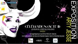 Vernissage/Happening Célébration Acte II à Paris le jeu.  4 avril 2019 de 19h30 à 23h00 (Expo Gay)
