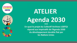 Centre d'Archives et Agenda2030 à Paris le mar. 23 avril 2019 de 17h00 à 19h00 (Atelier Gay, Lesbienne, Trans, Bi)