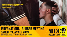 International Rubber Meeting 2019 à Paris le sam. 19 janvier 2019 de 22h00 à 05h00 (Sexe Gay)