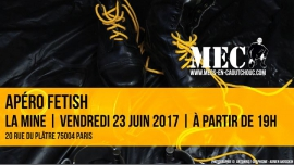 Apéro fetish à Paris le ven. 23 juin 2017 de 19h00 à 22h00 (After-Work Gay)