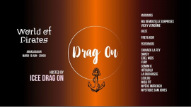 La Drag On #9 - World of Pirates in Paris le Tue, June 18, 2019 at 08:00 pm (After-Work Gay)