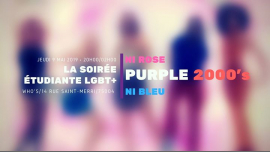 Purple #6 : Flashback to the 2000's in Paris le Thu, May  9, 2019 from 08:00 pm to 02:00 am (After-Work Gay, Lesbian)