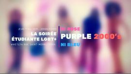 Purple #6 : Flashback to the 2000's en Paris le jue  9 de mayo de 2019 20:00-02:00 (After-Work Gay, Lesbiana)