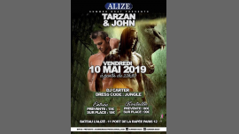 Tarzan & John in Paris le Fri, May 10, 2019 at 10:30 pm (After-Work Gay Friendly)