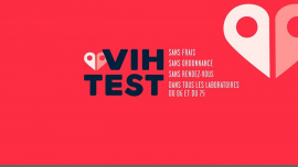 VIHTest in Paris from  1 til July  5, 2019 (Health care Gay)