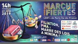 Marche des Fiertés LGBT+ de Paris IDF 2019 em Paris le sáb, 29 junho 2019 14:00-19:00 (Desfiles Gay, Lesbica)
