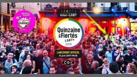 Lancement officiel de la Quinzaine des Fiertés LGBT+ à Paris le ven. 14 juin 2019 de 19h00 à 22h30 (After-Work Gay)