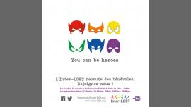 Les Rencontres Bénévoles de l'Inter-LGBT à Paris le sam.  2 février 2019 de 18h00 à 19h30 (Rencontres / Débats Gay, Lesbienne, Trans, Bi)