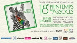 18e Printemps des Assoces 2017 à Paris le sam. 25 mars 2017 de 14h00 à 19h00 (Festival Gay, Lesbienne)
