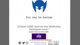 Rencontre de bénévoles #8 à Paris le sam.  2 février 2019 de 18h00 à 19h30 (After-Work Gay, Lesbienne)