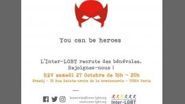 Rencontre de bénévoles #1 in Paris le Sat, October 27, 2018 from 06:00 pm to 07:30 pm (After-Work Gay, Lesbian)