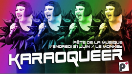 Karaoqueer, le Karaoke des PopinGays in Paris le Fri, June 21, 2019 from 08:00 pm to 01:00 am (After-Work Gay, Lesbian)