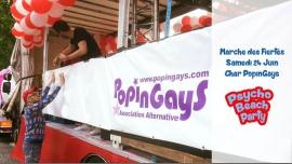 Char PopinGays Marche des Fiertés : Appel aux fabuleux volontaires à Paris le sam. 24 juin 2017 de 12h00 à 19h00 (Parades / Défilés Gay, Lesbienne)