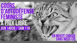 Cours d'autodéfense féministe à prix libre à Paris le sam. 27 avril 2019 de 11h00 à 13h00 (Atelier Lesbienne)