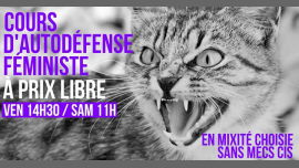 Cours d'autodéfense féministe à prix libre in Paris le Sat, June 22, 2019 from 11:00 am to 01:00 pm (Workshop Lesbian)