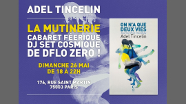 Soirée d'Adel Tincelin à la Mutinerie ! in Paris le Sun, May 26, 2019 from 06:00 pm to 10:00 pm (After-Work Lesbian)