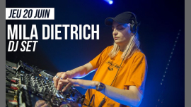 DJ set : Mila Dietrich in Paris le Thu, June 20, 2019 from 09:30 pm to 01:30 am (After-Work Lesbian)