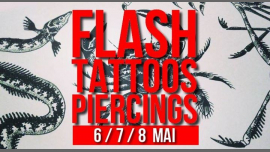 Flash-tattoos et piercings // 3 jours in Paris le Mon, May  6, 2019 from 05:00 pm to 11:30 pm (After-Work Lesbian)