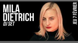 DJ set : Mila Dietrich à Paris le jeu.  7 février 2019 de 21h30 à 01h30 (After-Work Lesbienne)