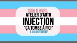 """Atelier d'auto-injection """"Ça tombe à pic"""" à Paris le sam.  6 avril 2019 de 16h00 à 18h00 (Atelier Lesbienne)"""