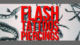 Flash-tattoos et piercings // 3 jours à Paris le mar.  5 mars 2019 de 17h00 à 00h30 (Atelier Lesbienne)