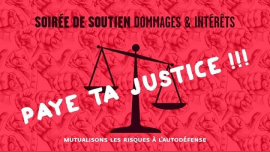 Soirée de soutien Dommages et Intérêts à Paris le sam. 26 janvier 2019 de 18h00 à 02h00 (After-Work Lesbienne)