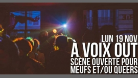 À VOIX OUT - Scène ouverte pour Meufs et/ou Queers in Paris le Mon, November 19, 2018 from 07:00 pm to 11:00 pm (After-Work Lesbian)