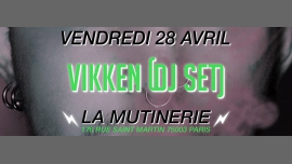 Vikken (DJ SET) à Paris le ven. 28 avril 2017 de 21h00 à 01h30 (After-Work Lesbienne)