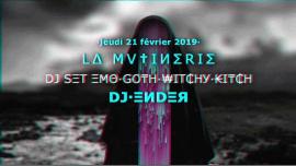 Mess Noir - DJset em Paris le qui, 21 fevereiro 2019 21:30-01:30 (After-Work Lesbica)