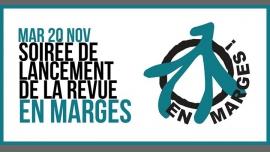 Soirée de lancement de la revue En marges ! in Paris le Tue, November 20, 2018 from 07:00 pm to 10:00 pm (After-Work Lesbian)