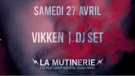 DJ set : Vikken à Paris le sam. 27 avril 2019 de 21h30 à 01h30 (After-Work Lesbienne)