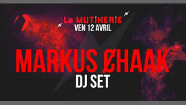 DJ set : Markus Ȼhaak à Paris le ven. 12 avril 2019 de 21h30 à 01h30 (After-Work Lesbienne)