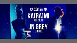 DJ set : Ka(ra)mi & JN Grey - guest - à Paris le jeu. 13 décembre 2018 de 21h30 à 01h30 (After-Work Lesbienne)
