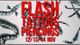 Flash-tattoos et piercings // 3 jours à Paris le mar. 13 novembre 2018 de 17h00 à 00h30 (After-Work Gay Friendly, Lesbienne)
