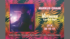 DJ set : Markus Chaak (FUKTN/Prude Pride) à Paris le sam. 28 octobre 2017 de 20h00 à 23h00 (After-Work Lesbienne)