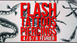 Flash-tattoos et piercings // 3 jours en Paris le mar  5 de febrero de 2019 17:00-00:30 (After-Work Lesbiana)