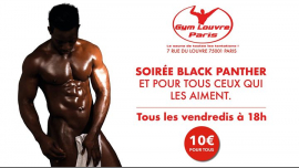 Blackpanther in Paris le Fr  3. Mai, 2019 18.00 bis 02.00 (Sexe Gay)
