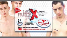 LES NUITS DU X in Paris le Fr 28. Juni, 2019 20.00 bis 01.00 (Sexe Gay)