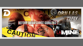 Before De La Soirée Gorillas in Paris le Sa 23. Februar, 2019 19.00 bis 23.00 (Before Gay)